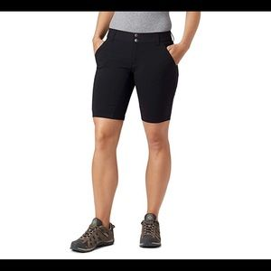 "NWT Columbia Saturday Trail 12"" In Shorts Black"